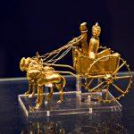 Golden chariot-Achaemenid