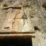 Relief -Eshagh-Vand_rock tombs