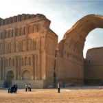 Taq Kasra-Arc of Khosrau Sassanid _Persian monument-in Iraq